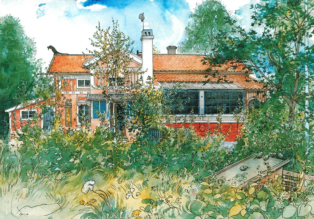 Carl Larsson gården – One of the world's best known and most