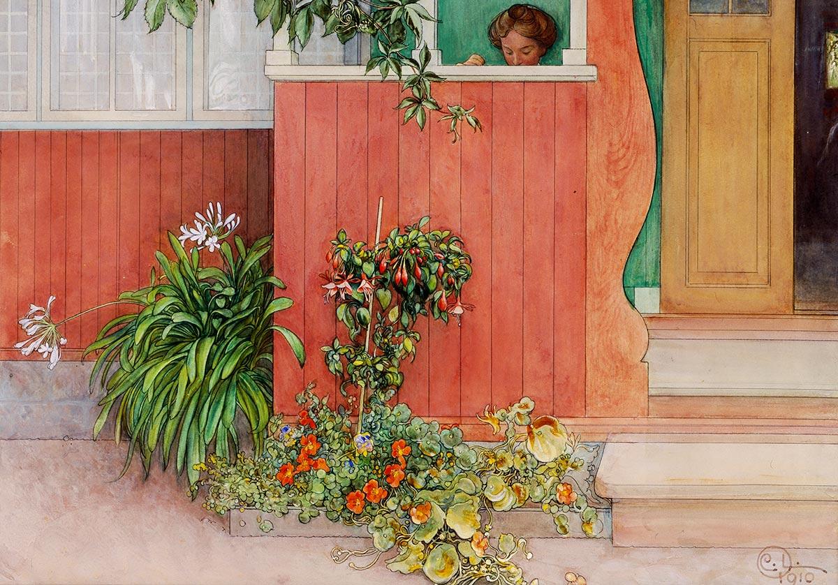 Byst p Carl Larsson. - Picture of Carl Larsson House, Sundborn